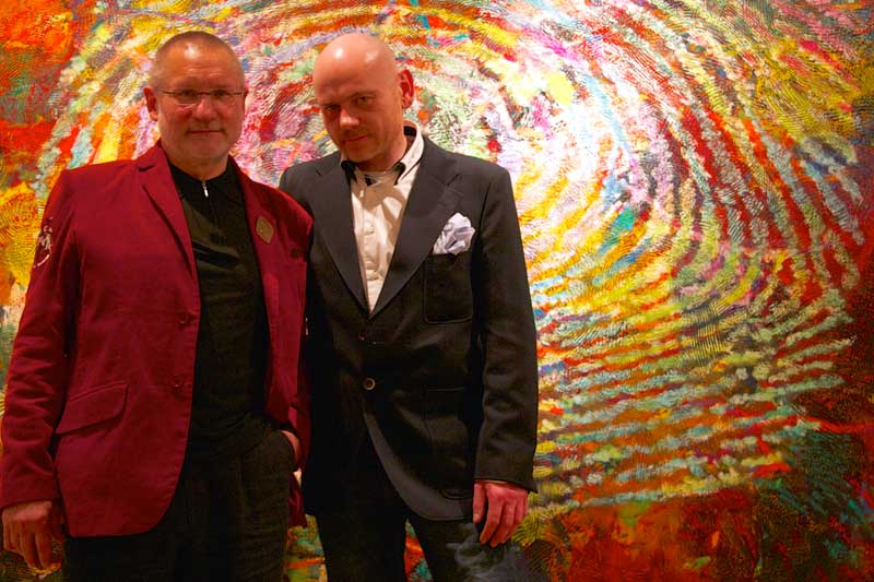 Jürgen Meister und Gereon Riedel; Foto Angela Berg
